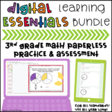 Distance Learning Essentials Bundle: 3rd Grade Math