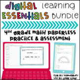 Distance Learning Essentials Bundle: 4th Grade Math