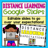 Distance Learning Expectations Google Slides