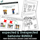 Distance Learning | Expected & Unexpected Behavior BUNDLE