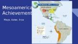 Distance Learning: Exploration, Inca/Maya/Aztec, Conquista