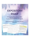 Distance Learning Expository Essay Writing Assignment abou