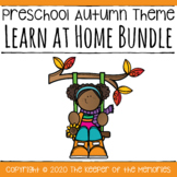 Distance Learning Fall Preschool Learn at Home Bundle
