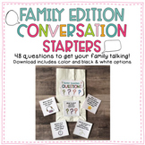 Distance Learning Family Edition Conversation Starters