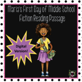 Distance Learning Fiction Reading Passage (Digital Version)