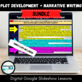 Distance Learning Plot Development + Narrative Writing Dig