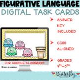Distance Learning Figurative Language Digital Task Cards f