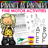 Distance Learning - Fine Motor Activities Guide for Parents