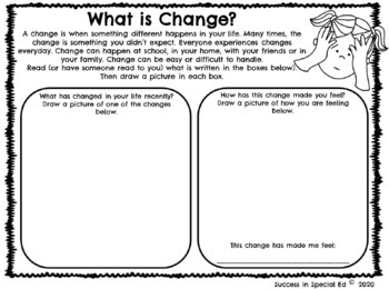 Flexible Thinking Dealing With Change Interactive Worksheets Distance Learning