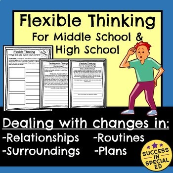 Flexible Thinking Dealing with Change Middle and High School Distance Learning
