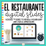 Distance Learning - Food and Restaurant in Spanish - La Comida
