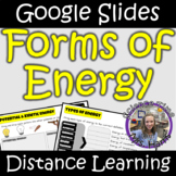Distance Learning: Forms of Energy (Google Slides)