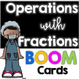 Distance Learning:  Fraction Review BOOM Cards