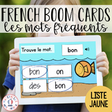 Distance Learning - French Boom Cards - Apprendre les mots
