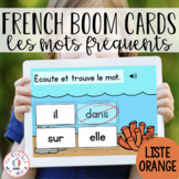 Distance Learning - French Boom Cards Apprendre les mots f