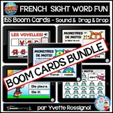 Distance Learning French Boom Cards BUNDLE | Sight Words F