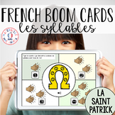 Distance Learning - French Boom Cards - Les syllabes (la S