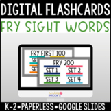 Distance Learning Fry First 300 Sight Words: Digital Flashcards