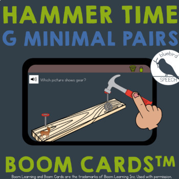 Distance Learning G Articulation HAMMER TIME Min Pairs, Max Contrasts, Mult Opps