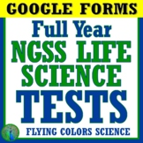 Distance Learning GOOGLE FORMS Full Year Life Science Biol