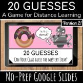 Digital Fun Friday Game | Google Slides | Virtual Brain Break