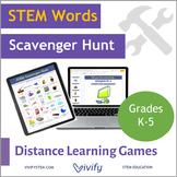 Distance Learning Games: STEM Scavenger Hunt