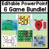 Virtual Games Bundle {6 PowerPoint Games!} Play on Zoom wi