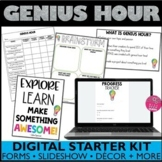 Distance Learning Genius Hour with Google