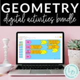 Distance Learning: Geometry Digital Activities Bundle