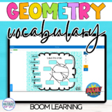 Distance Learning Boom Learning℠ Geometry Vocabulary Quiz