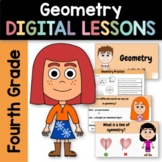 Distance Learning Geometry for Fourth Grade - Interactive