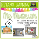 Distance Learning   Get to Know You Me Museum Google Slides   Bitmoji Ed