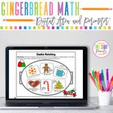 Digital Gingerbread House Area and Perimeter Design Challenge