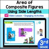Distance Learning Google Classroom 3rd Grade Area Irregular Figures Lesson 5