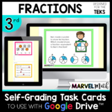 Distance Learning Google Classroom - 3rd Grade Fractions Review