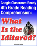"""Distance Learning Google Classroom: 4th Grade Reading """"Wha"""