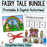 Distance Learning Google™ Classroom Fairy Tale Bundle