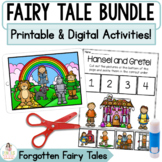 Distance Learning Google™ Classroom Fairy Tale Bundle