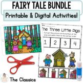 Fairy Tale Digital Retell Bundle   Google™ Slides & Printable Activities