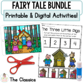 Distance Learning Google™ Classroom | Fairy Tale Retell Bundle