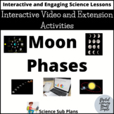 Moon Phases - Interactive Video and Extension Activities
