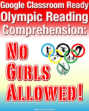 Distance Learning Google Classroom Olympic Reading Compreh