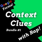 Digital Context Clues Google Forms Reading Activities Usin
