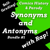 Synonyms and Antonyms Google Classroom Reading Comprehension