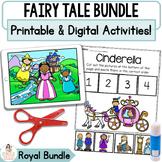Royal Fairy Tale Digital Retell Bundle | Google™ Slides & Printable Activities