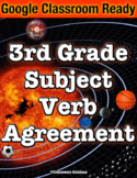 Distance Learning Google Classroom Subject Verb Agreement