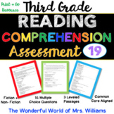 Distance Learning - Google Form - 3rd Grade Reading Compre