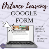 Distance Learning Google Form Student Survey