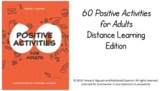 Distance Learning Google Slides: 60 Positive Activities fo