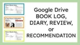 Distance Learning: Google Slides Book Reviews, Recommendat